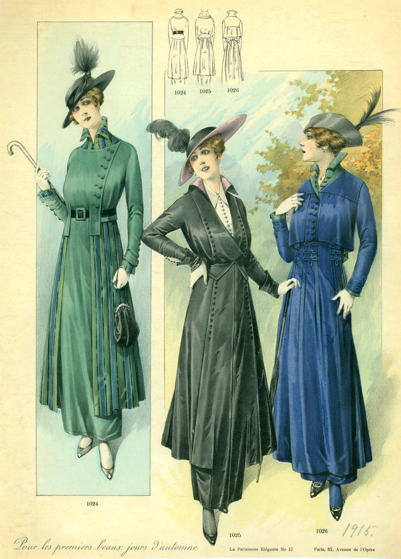 Women's Fashion 1915